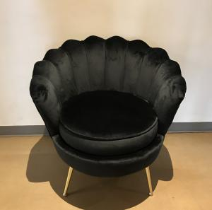 Black Scalloped Chair